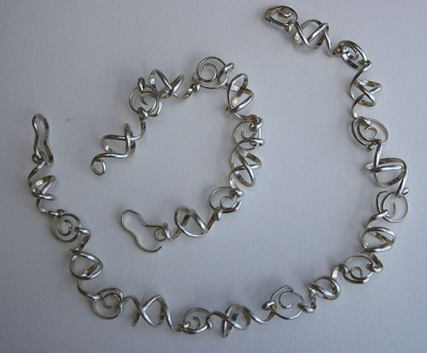 Sterling Set Necklace and bracelet