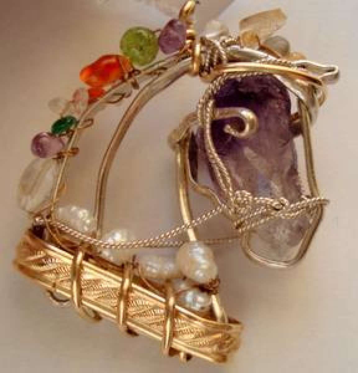 Horse Head with gemstones